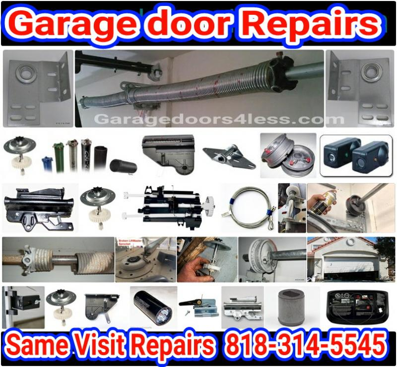 Garage Doors 4 Less Proudly Serving The San Fernando